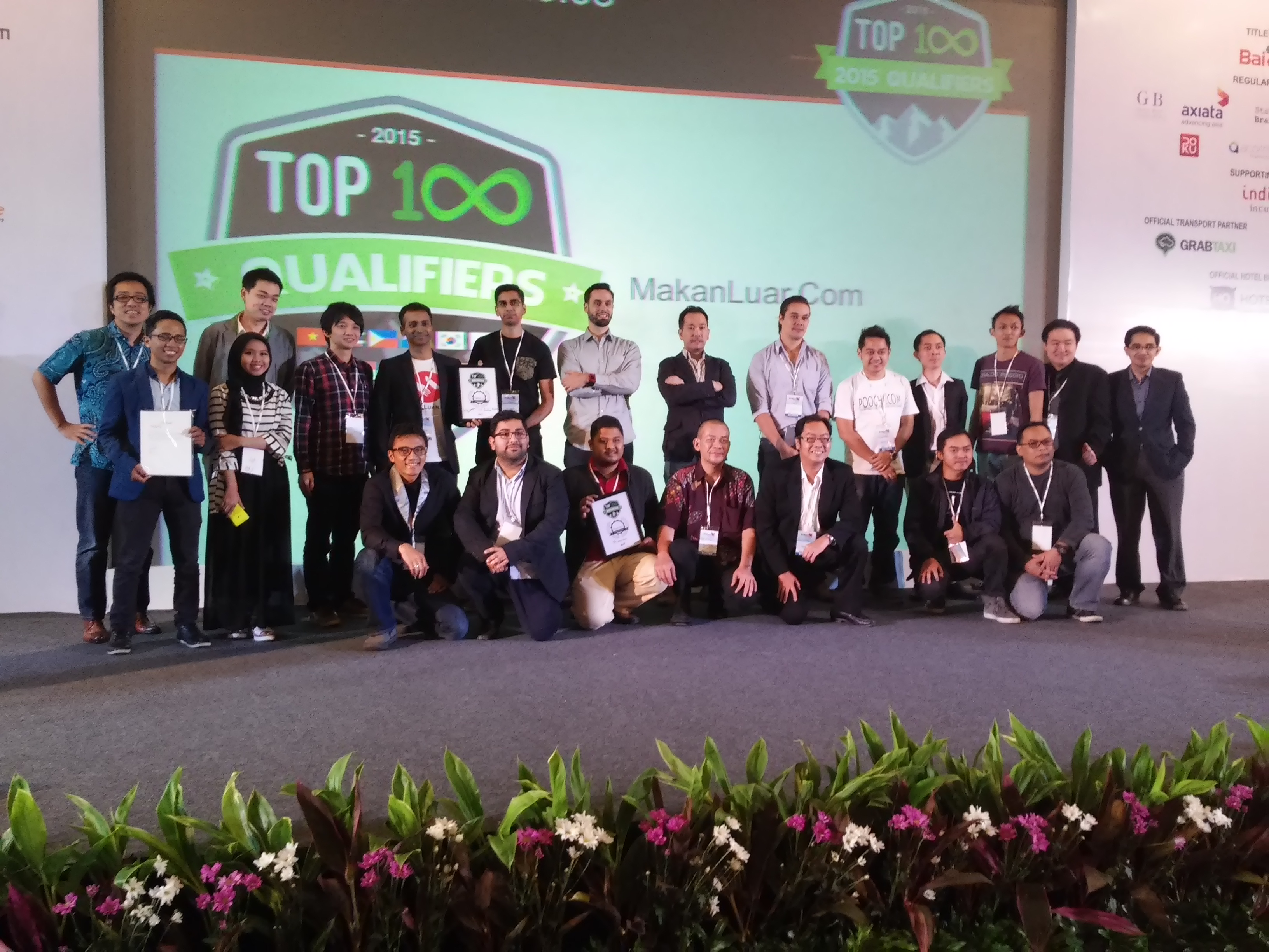 Peserta dan pemenang program Top 100 Indonesia Qualifier / DailySocial