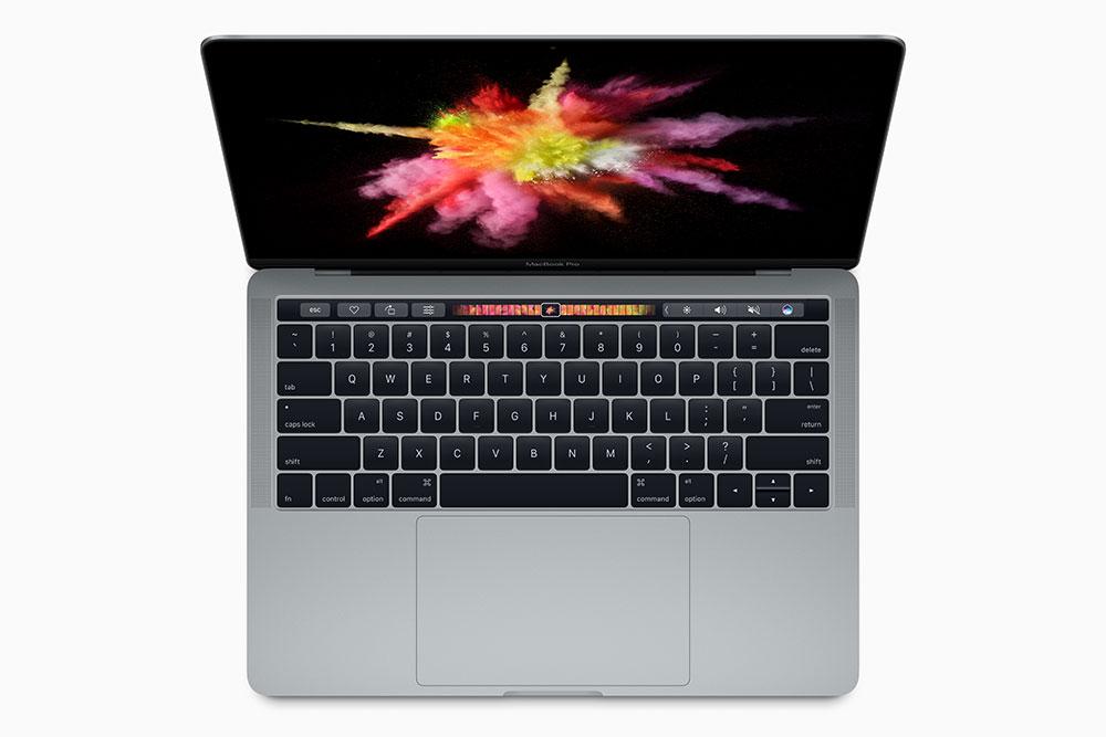 Luas penampang trackpad-nya hampir dua kali lipat MacBook Pro generasi sebelumnya / Apple