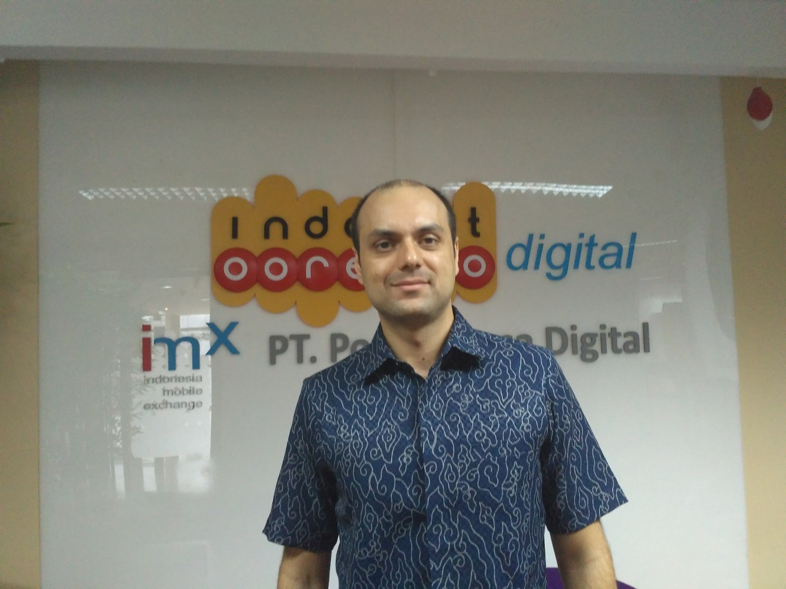 Group Head Digital Strategy & Investments Indosat Ooredoo Usman Khan Lodhi / DailySocial