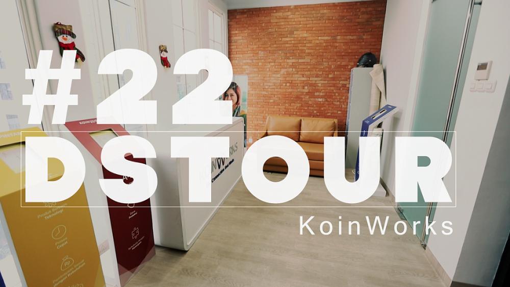 Memanfaatkan ruangan terbatas di kantor KoinwWorks / DStour
