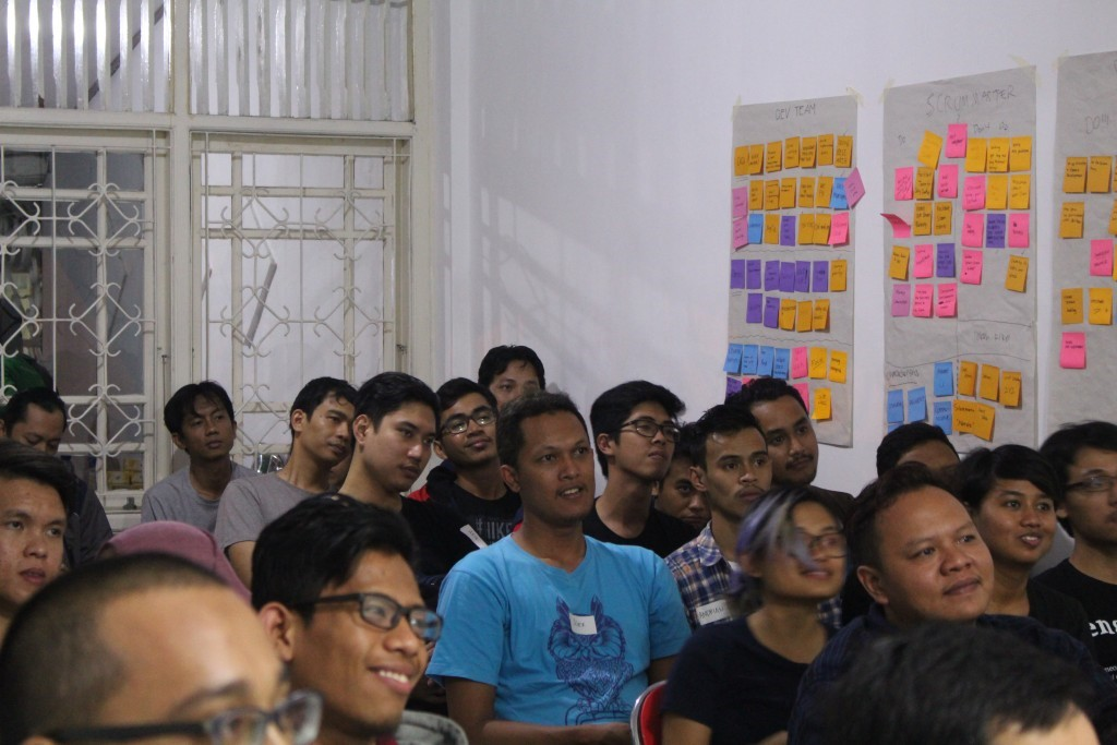 One of agile meetup session