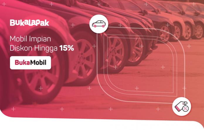 Bukalapak Luncurkan Layanan Kredit Mobil Lewat Platform BukaMobil / Bukalapak