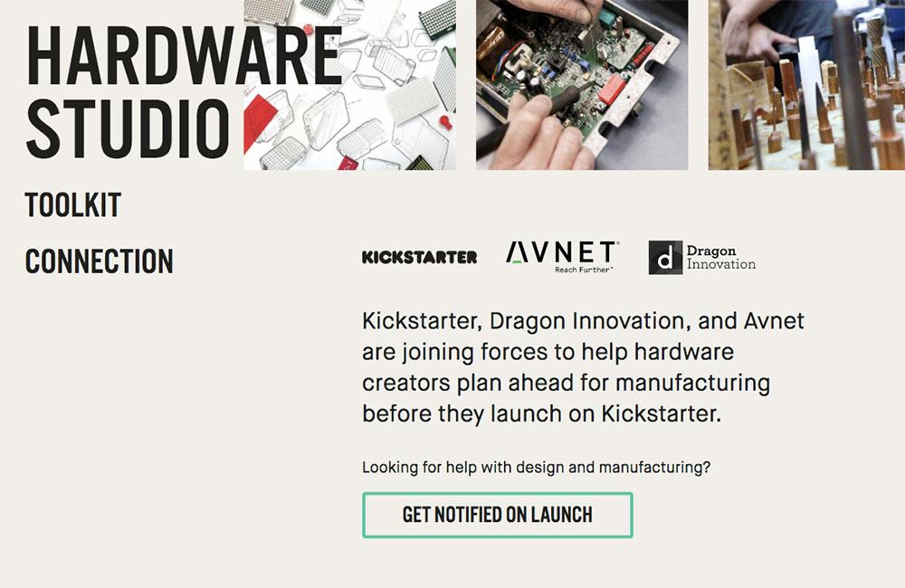 Kickstarter Hardware Studio / Kickstarter