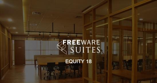 Lokasi strategis dan fasilitas lengkap coworking space Freeware Spaaces / Freeware