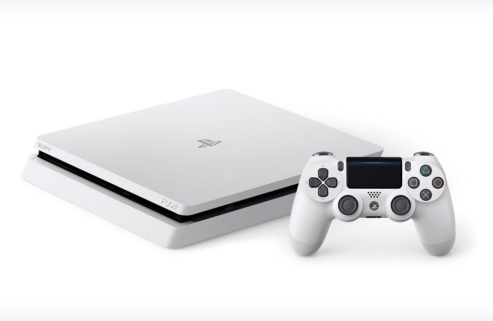 PlayStation 4 Slim Glacier White