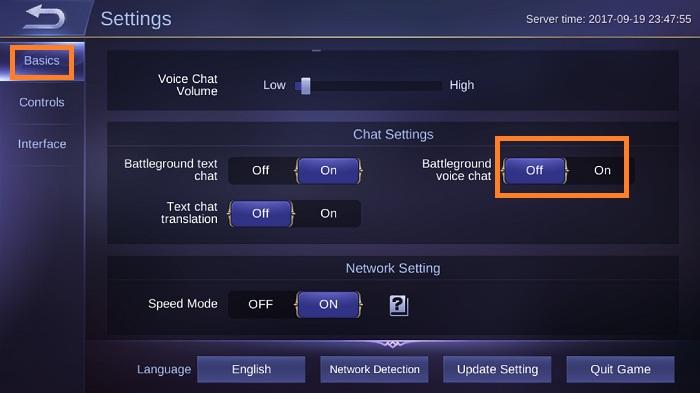 mengaktifkan voice chat di mobile legends