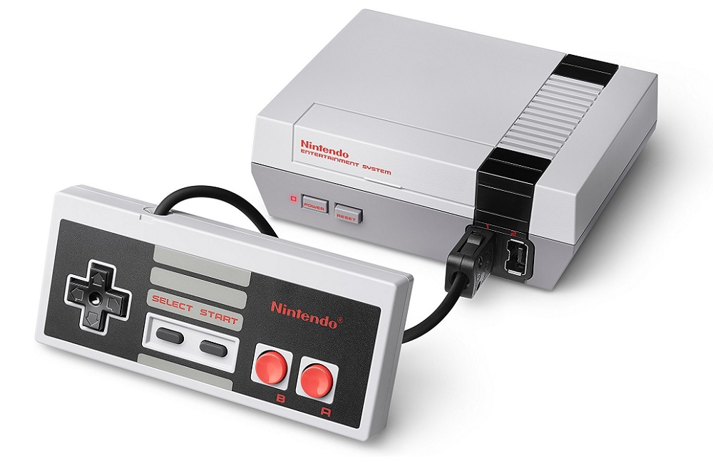 Nintendo Entertainment System Classic Edition.
