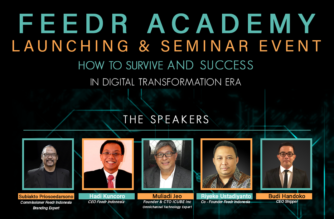Feedr Academy adakan seminar tentang transformasi digital / Feedr