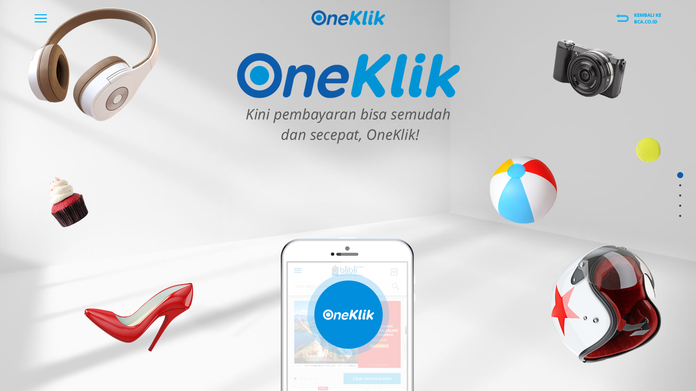 BCA introduces OneKlik payment service for e-commerce