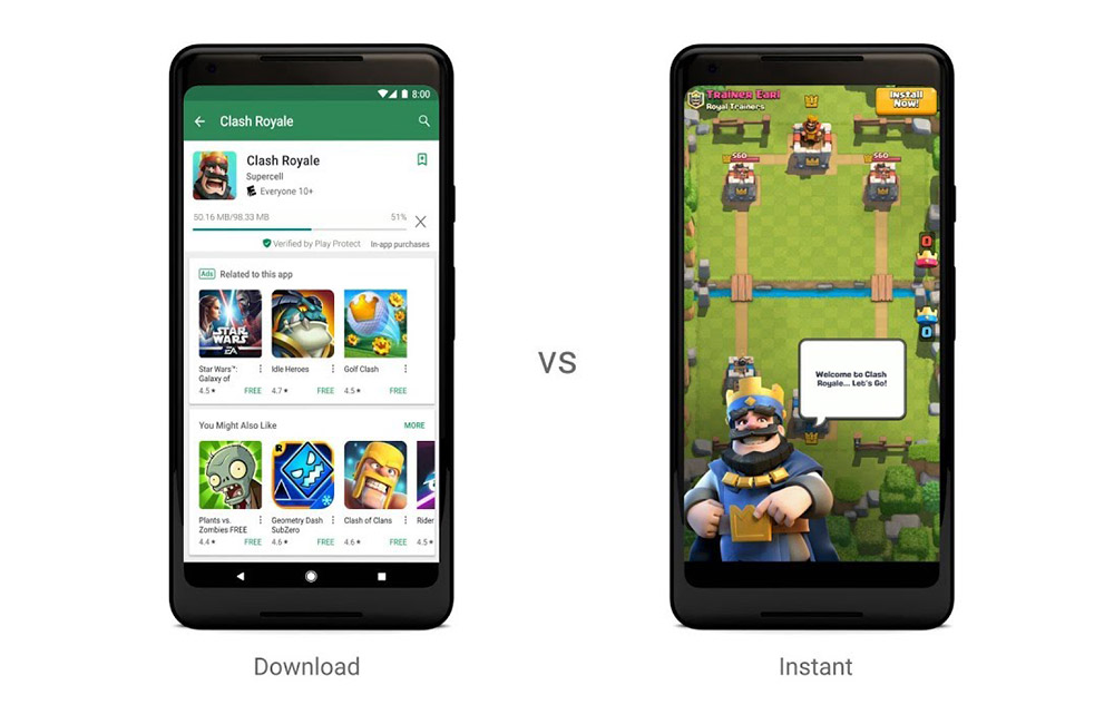 Google Play Instant / Google