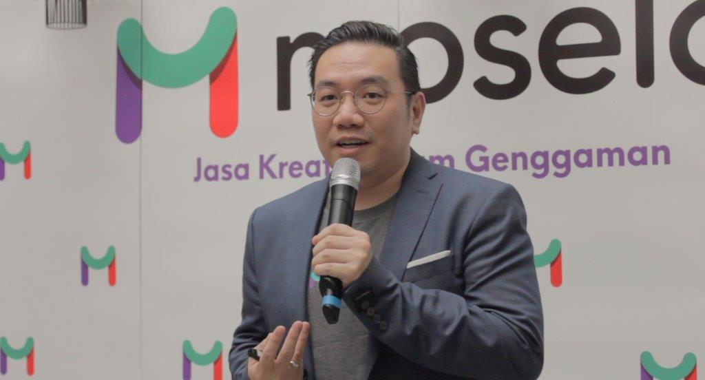 Richard Fang, Founder and CEO of Moselo in the official launching / Moselo