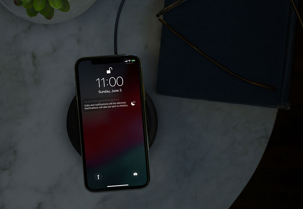 iOS 12 Do Not Disturb Bedtime