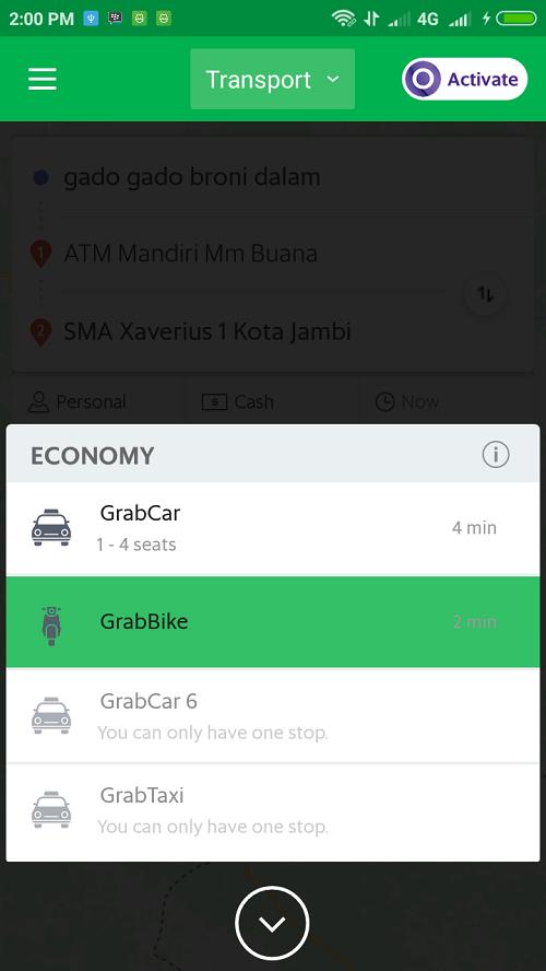 Cara Pesan GrabBike di Smartphone Android_5