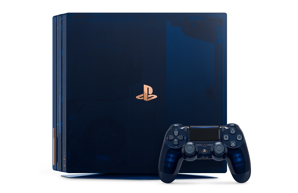 500 Million Limited Edition PS4 Pro.