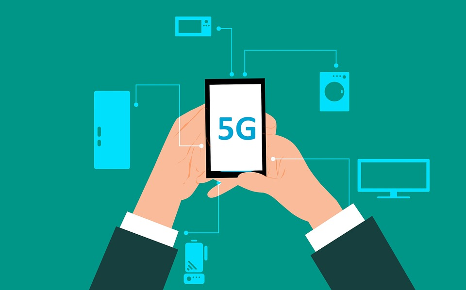Image result for ilustrasi 5G