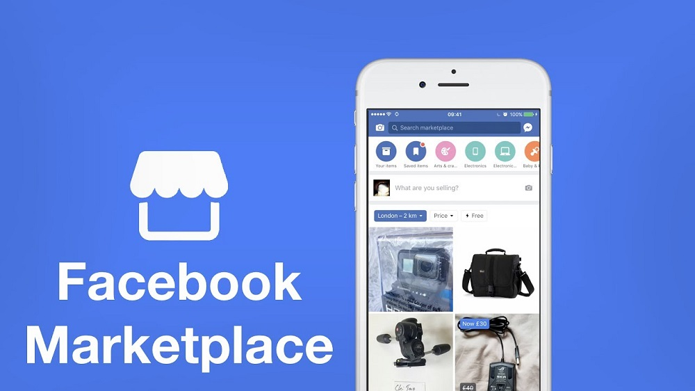 Ilustrasi Facebook Marketplace