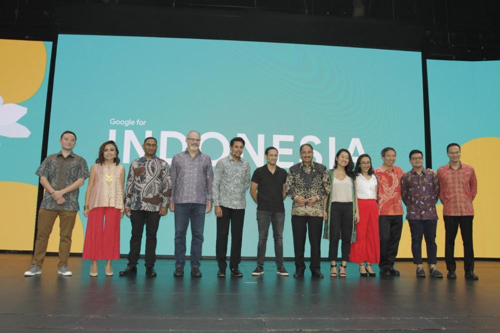 Jajaran pembicara dalam Google for Indonesia 2018 / DailySocial