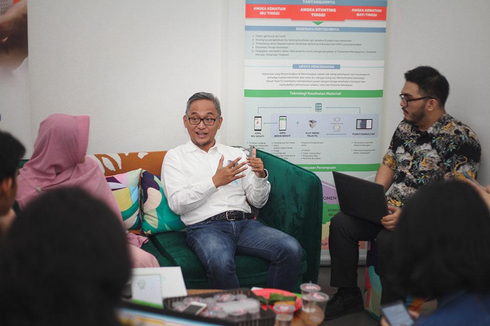 CEO dan Founder Sehati TeleCTG Ari Waluyo / Sehati TeleCTG