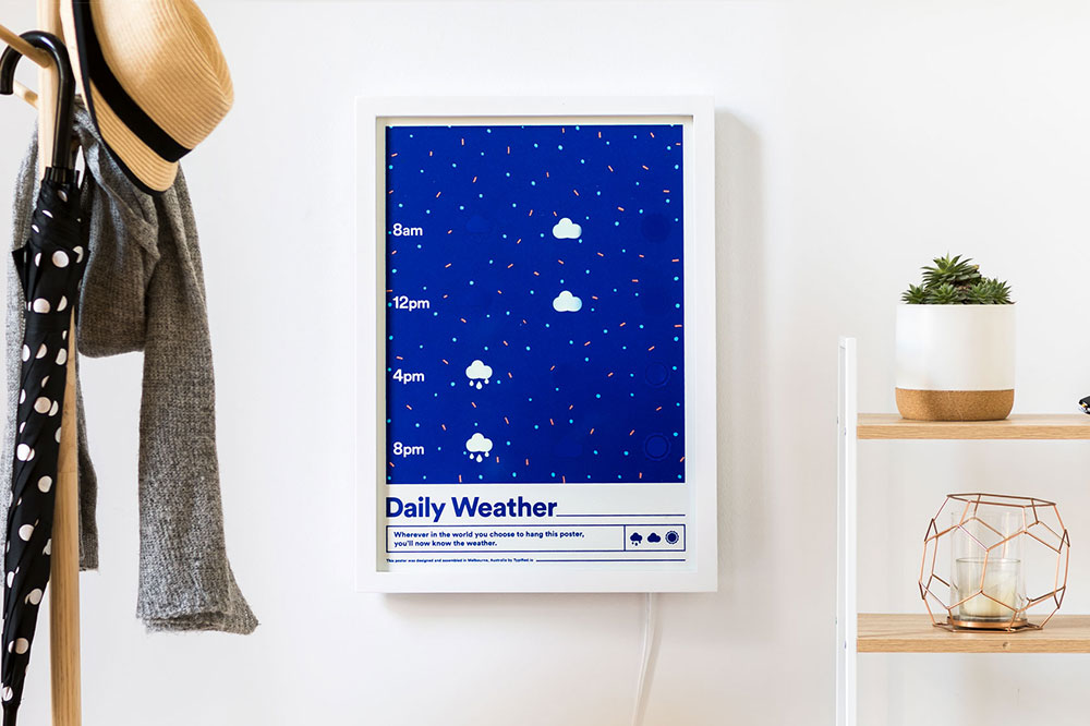 Weather Poster / Typified
