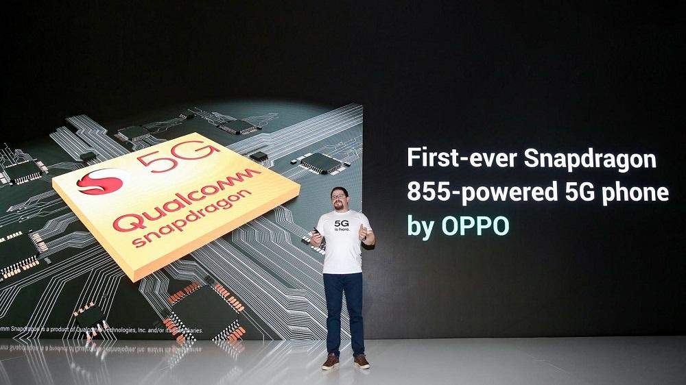 Christiano Amon – Presiden of Qualcomm memaparkan perangkat 5G pertama OPPO