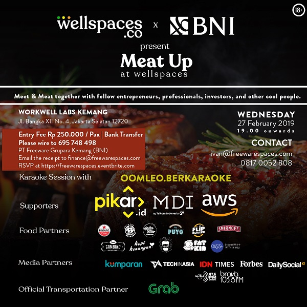 MEAT UP 2019 Wellspaces Group