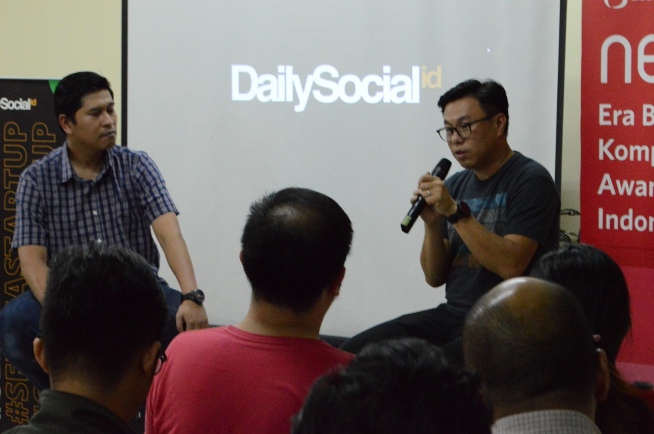 Co-Founder dan Managing Partner East Ventures Willson Cuaca / DailySocial