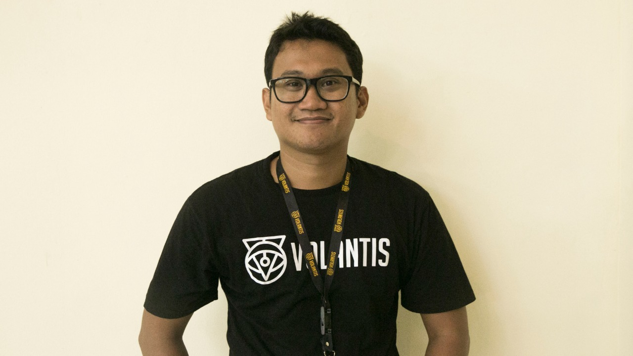 Co-Founder dan CEO Volantis Bachtiar Rifai