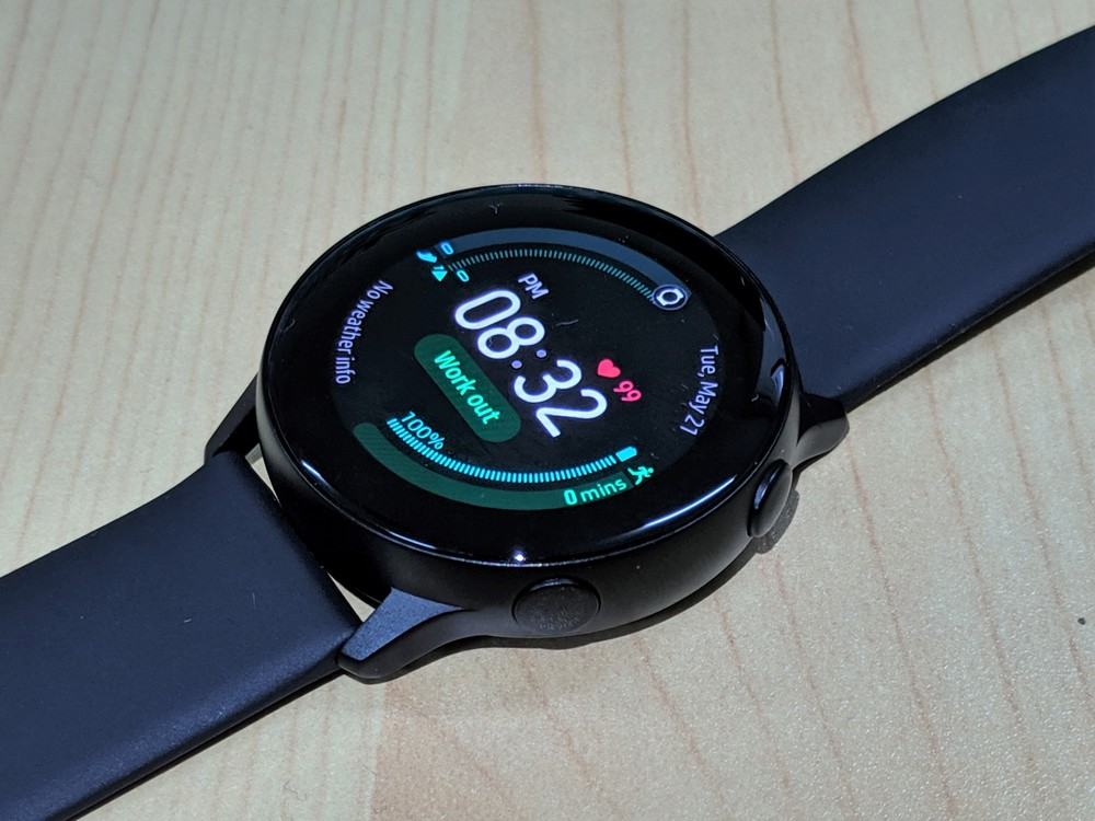 Samsung Galaxy Watch Active - Buttons