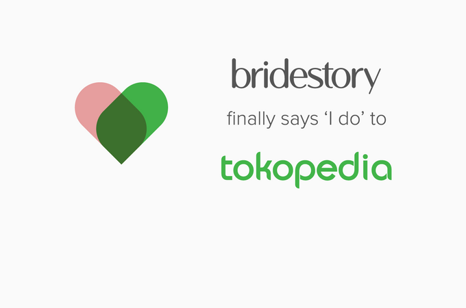 Official acquisition of Bridestory by Tokopedia