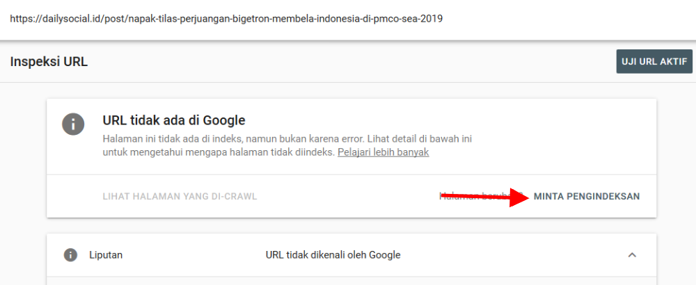 Cara request index mesin pencari di Google Search Console_3