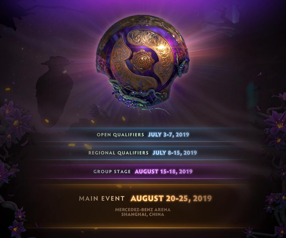 The International 2019 - Schedule