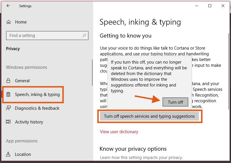 Cara Mengaktifkan dan Mematikan Fitur Pengenal Suara di Windows 10_4