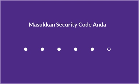 security code ovo