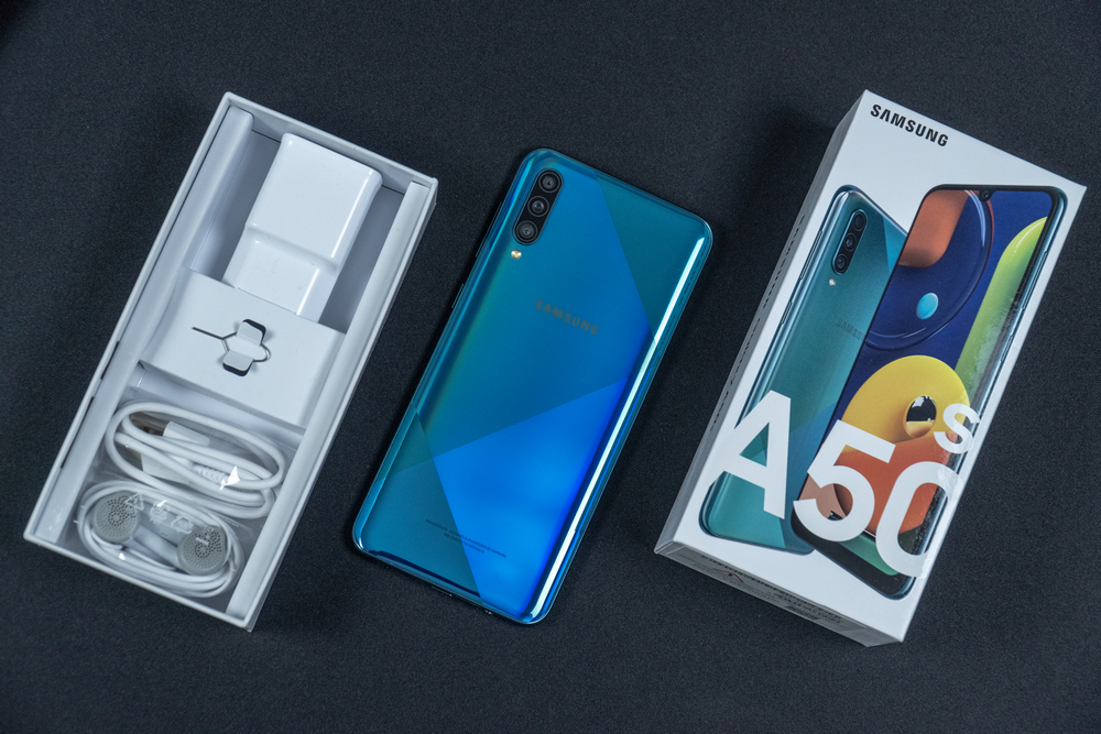 Samsung Galaxy A50s - Unboxing