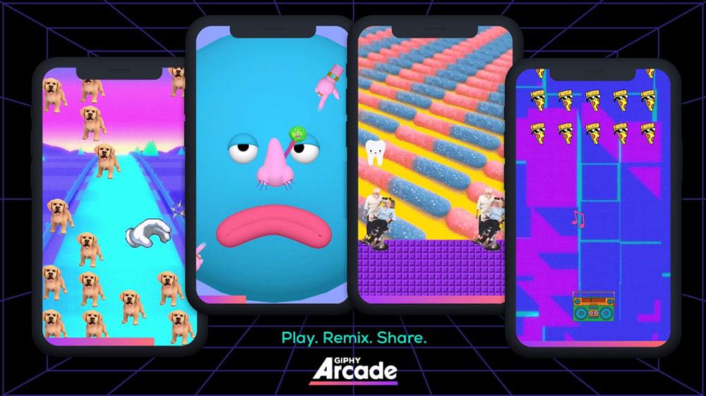 Giphy Arcade / Giphy