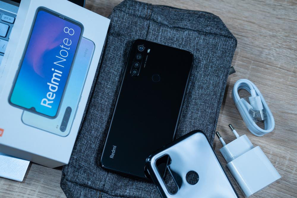 Xiaomi Redmi Note 8 - unboxing