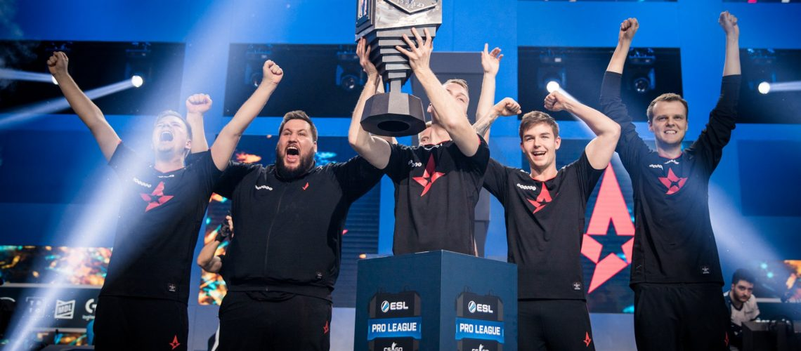 Astralis saat memenangkan Intel Grand Slam | Sumber: ESL Gaming