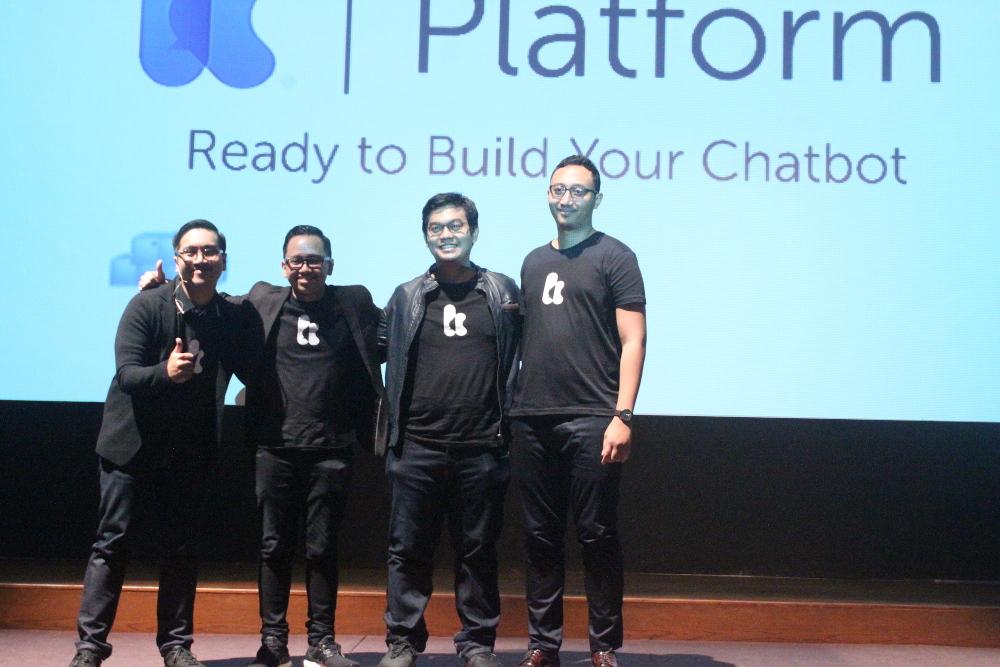 Co-Founders Kata.ai Meluncurkan Kata Bot Platform
