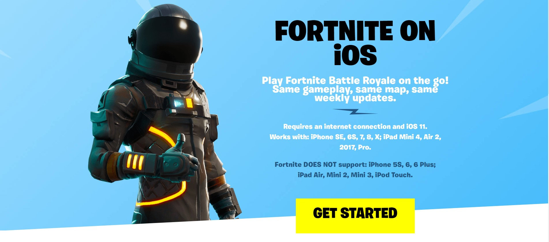 Sumber: Fortnite Official Site