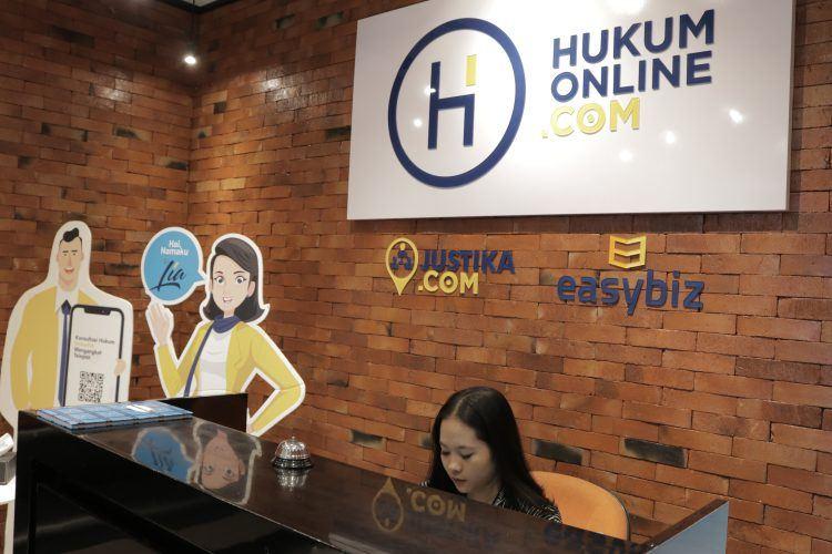 Hukumonline miliki dua anak perusahaan, yakni Justika dan Easybiz / Hukumonline
