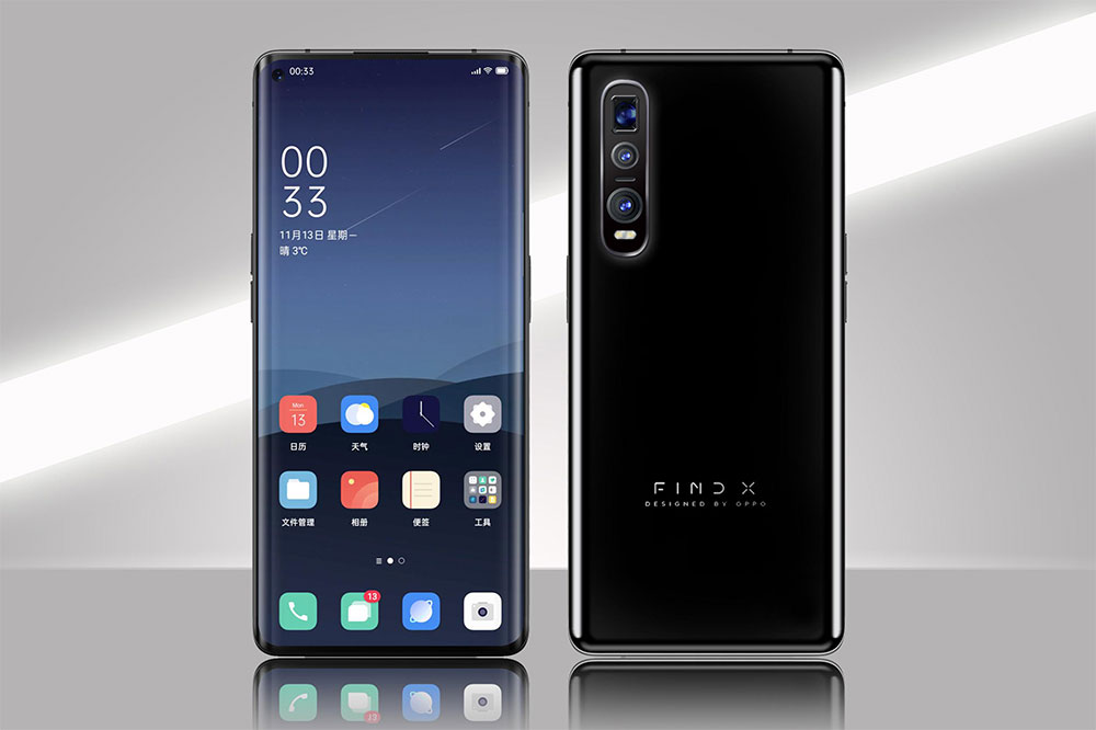 Bocoran render OPPO Find X2 / Slashleaks