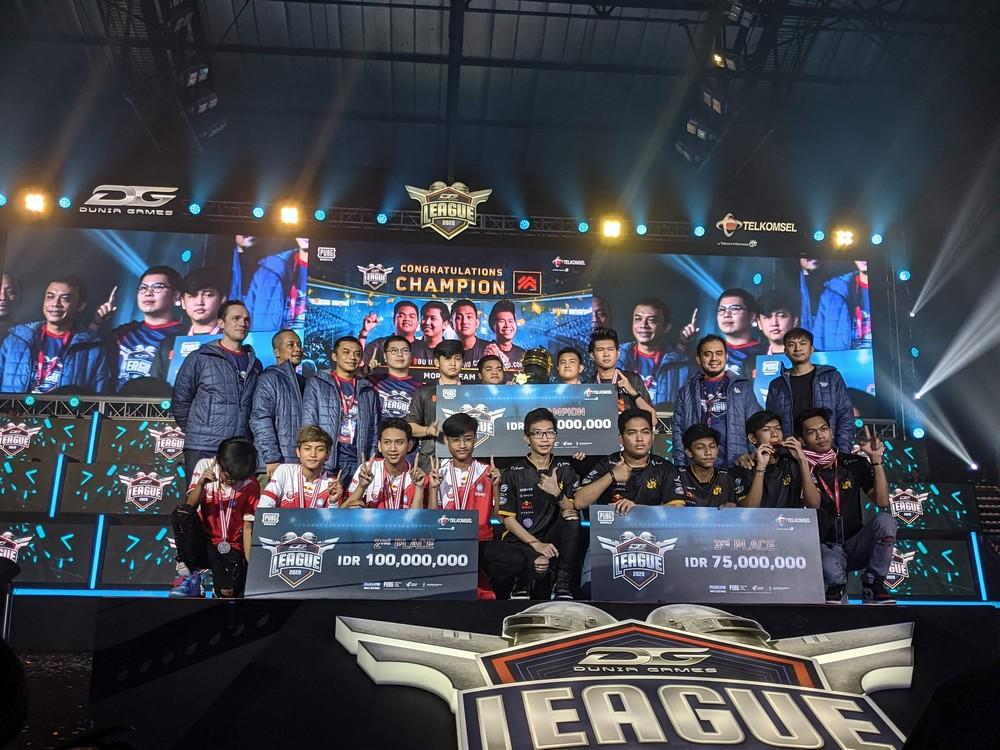 Foto 3 besar DG League 2020