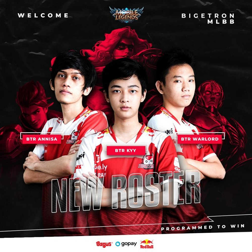 Sumber: Official Facebook Bigetron Esports