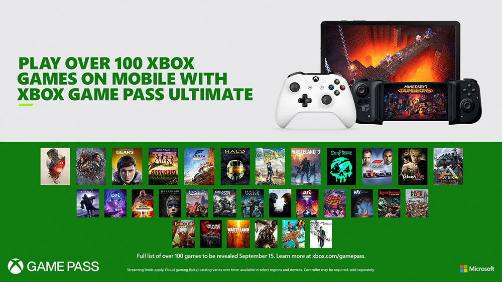 Project xCloud on Xbox Game Pass Ultimate