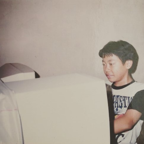 Zaky in his childhood figure