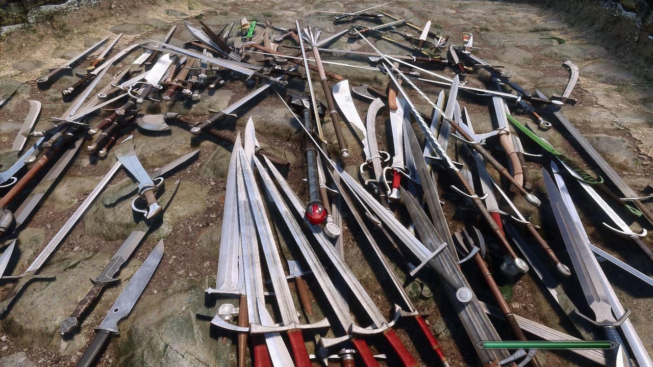 Skyrim Weapons Expansion. Via: Nexus Mods