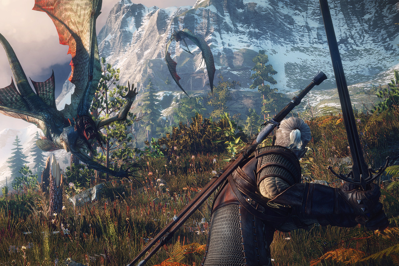 The Witcher 3. Via: The Verge