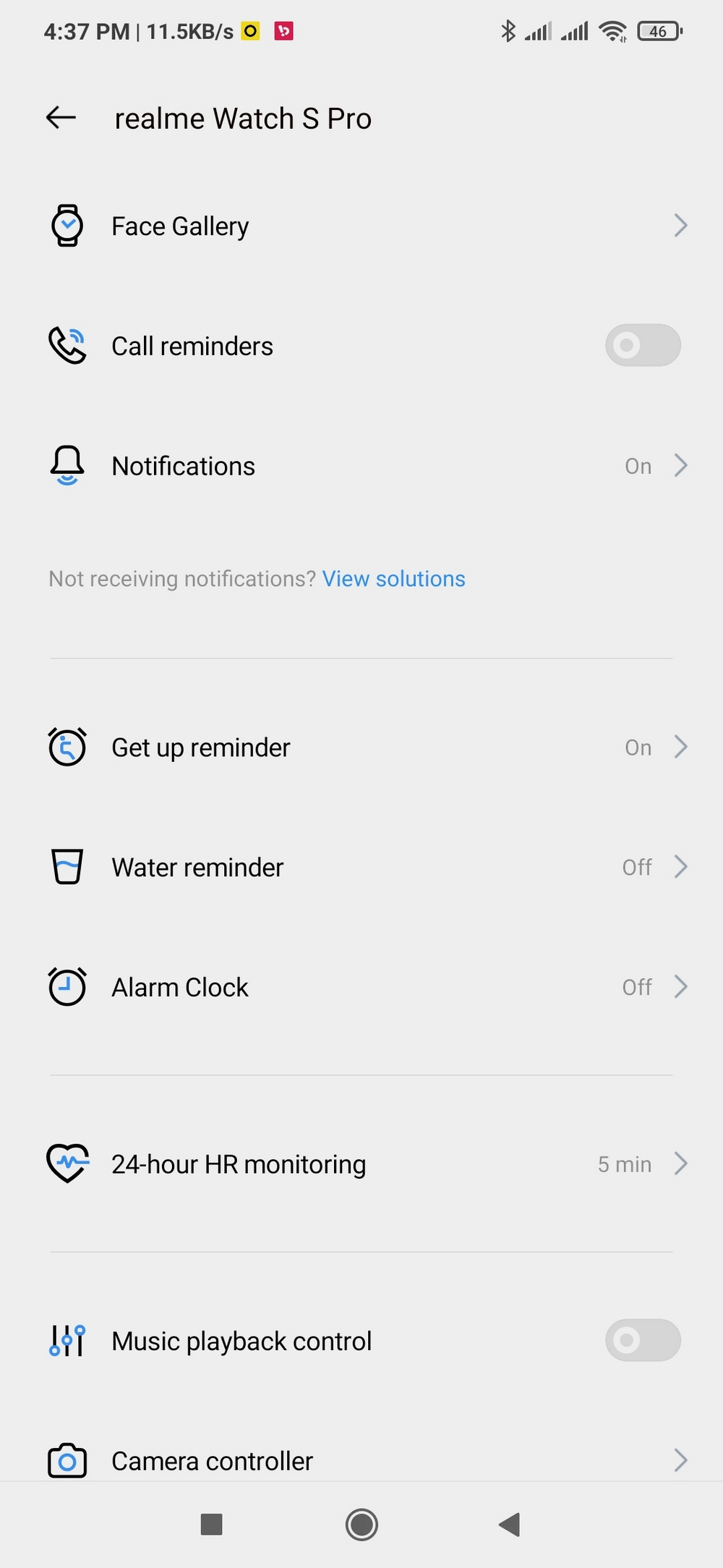 Realme Watch S Pro - Apps 1