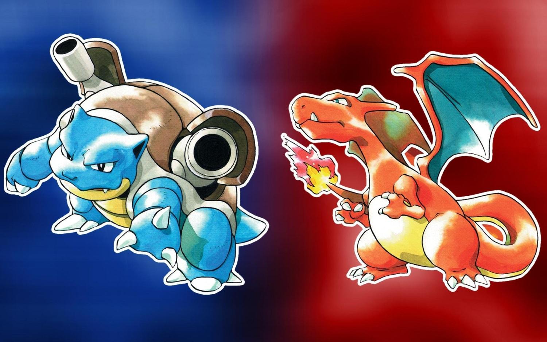 Pokemon Red dan Blue jadi game Pokemon pertama yang dirilis di AS.